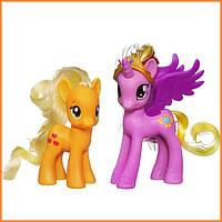 """Набор из двух пони My Little Pony """"Пони-принцессы Каденс и Эпплджек"""" Hasbro"""