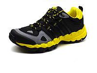 Кроссовки Terrex, унисекс, текстильные черные с желтым, фото 1