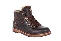 Кожаные мужские зимние ботинки Bumer 78