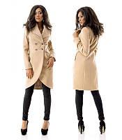 Женское  стильное кашемировое пальто - 5 цветов!