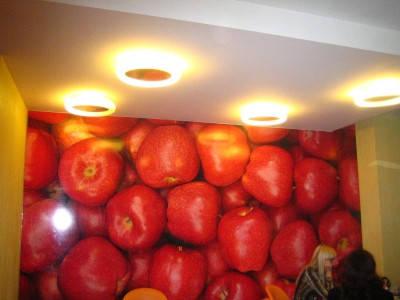 Потолочные светильники для кафе сети супермаркетов