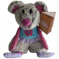 Мягкая игрушка Family-Fun семья Сплюшек - Мышонок Ронни 21 см