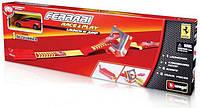 Игровой набор Трек Ferrari Скоростной прыжок трек с пускателем 1 машинка 1:43