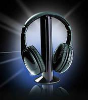 Беспроводные наушники 5 в 1 с FM приемником Wireless Headphone