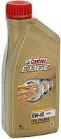 Моторное синтетическое масло Castrol(Кастрол)EDGE 0W-40 A3/B4 Titanium 1л.