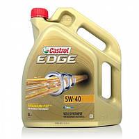 Моторное синтетическое масло CASTROL (Кастрол) EDGE 5W-40 Titanium 4л