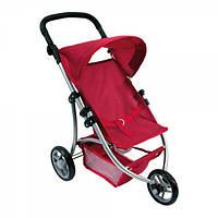 Трехколесная коляска для кукол ТМ Bino (красная)