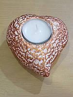 Подсвечник для чайной свечи Сердце