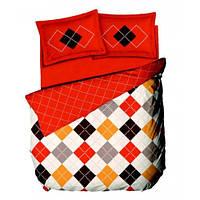 Комплект постельного белья Le vele CAPELLA - ORANGE простыня на резинке