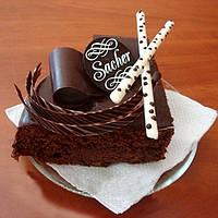 Изделия из шоколада. Шоколадки на торты с Вашим рисунком, фото 1