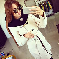 Женское модное кашемировое пальто *Дафлкот-01* (расцветки) (размеры 42, 44, 46, 48,50,52)