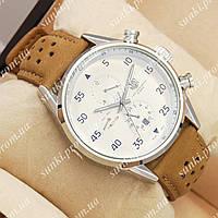Часы мужские TAG Heuer Carrera 1887 SpaceX Mechanic Silver/White 2135