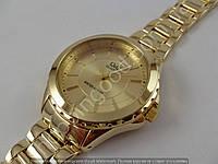 Часы Q&Q F523-010Y женские золотистые водозащитные