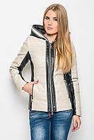 Женская демисезонная куртка Lusskiri -17494 из эко-кожи