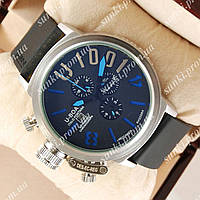 Часы мужские U-boat Italo Fontana Silver-Black-blue 3903