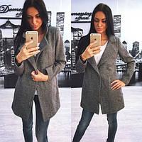 Женская твидовое пальто (размеры 42-58)