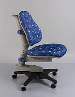 Детское кресло Mealux Y-818 F обивка синяя с мячиками