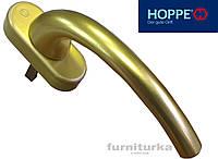 Ручка оконная Hoppe, золото матовое