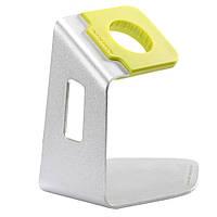 Подставка Nillkin C. Aluminum для зарядки Apple Watch 38mm 42mm желтый