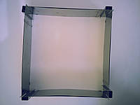 Форма(прямоугольная раздвижная) для выпечки размер от 24 до 46 см высота 2,5см,  см (код 04227)