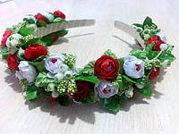 Віночок з квітами - Весна