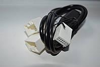 Переходник - тройник для штатной магнитолы с сд чейнджером vw Skoda Audi Seat 12 pin фишка
