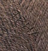 Пряжа для вязания Альпака роял ALIZE коричневый 687