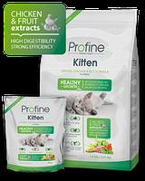 Корм для котят  Profine Cat Kitten 15 кг курица, профайн для котят от 1 до 12 месяцев