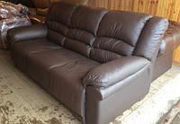 Новый кожаный диван-кровать