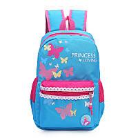 Молодежный городской рюкзак с бабочками.