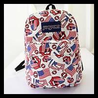 Интересные рюкзаки флаг США/Британии. Рюкзак для школы. Современные рюкзаки.Код: КСМ141
