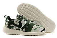 Кроссовки Мужские Nike Roshe Run Print Camo