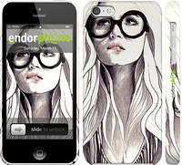 """Чехол на iPhone 5c Девушка с обложки """"2870c-23"""""""