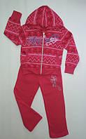 Спортивный костюм на флисе для девочки (3-6) лет