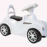 Машинка для катания ретро белая (0)