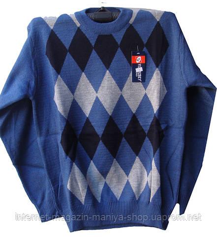 Мужской свитер ромб