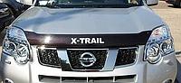 Дефлектор капота Nissan  X-Trail 2007-2014