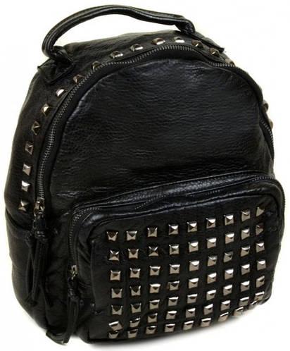 Оригинальный рюкзак из искусственной кожи 516 black, черный
