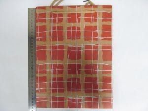 """Пакет подарочный  бумажный оптом """"Классическая клетка"""""""