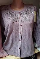 Красивая женская батальная кофта в расцветках, фото 1