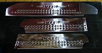 Mercedes Vito 639 Накладки на пороги (сталь, 3 шт) Carmos