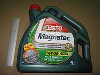 Масло моторное Castrol   Magnatec 5W-30 A3/В4  (Канистра 4л), R1-MAG53A3-4X4S