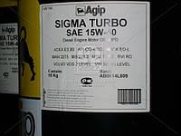 Масло моторное AGIP Sigma Turbo 15W/40 API CG-4/SG (Канистра 20л), 15W/40 API CG-4/SG