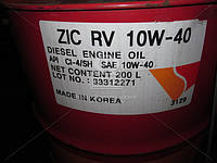 Масло моторное ZIC RV 10W-40 (Бочка 200л), 203129