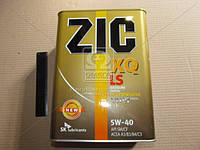 Масло моторное ZIC XQ LS 5W-40 (Канистра 4л), 163202