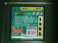 Масло моторное OIL RIGHT М10Г2к SAE 30 CC (Канистра 10л), 2501