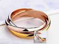 739-Кольцо, покрытое тремя видами золота