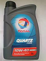 Полусинтетическое моторное масло Total Quartz 7000 Diesel 10w40 (1 литр)