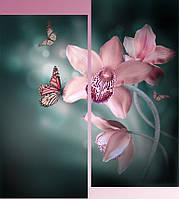"""Модульная картина """"Орхидея"""""""