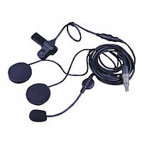 Гарнитура Emerson Military SIZE Tactical Headset For Helmet Black